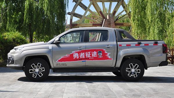 На рынке КНР стартовали «живые» продажи пикапа JMC Yuhu 2018