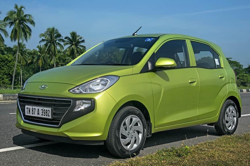 Бюджетный хэтчбек Hyundai Santro пользуется ажиотажным спросом