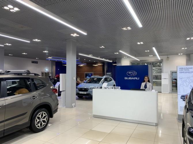Subaru в России начала проводить ребрендинг дилерской сети