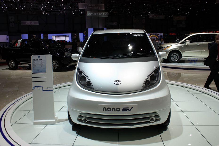 Tata презентовала самый дешевый в мире электромобиль Tata Nano