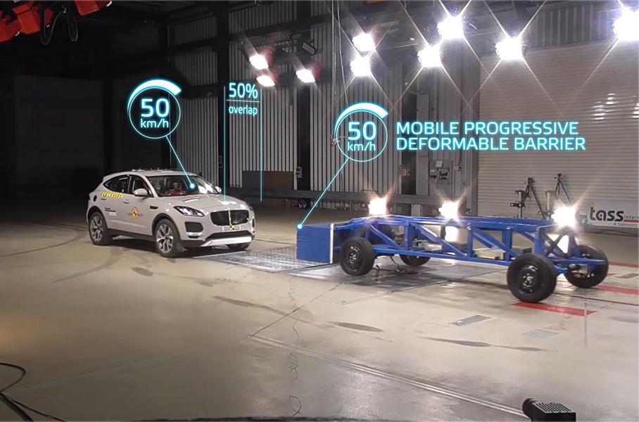 Euro NCAP правила краш-тестов автомобилей ужесточила