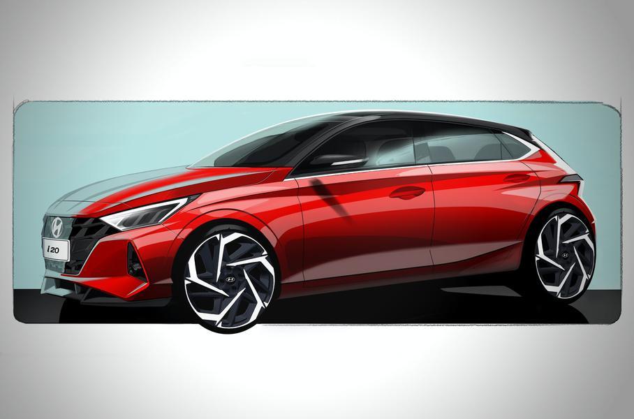 Hyundai продемонстрировала новый хэтчбек Hyundai i20