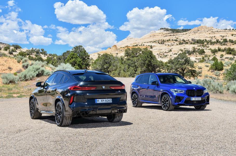 Стартовали российские продажи новых BMW X5 M и BMW X6 M