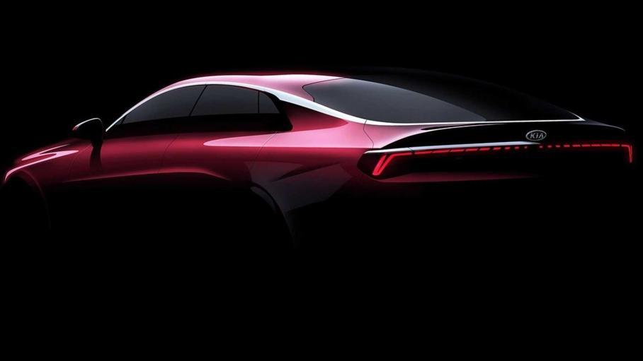 Появились первые изображения Kia Optima следующего поколения