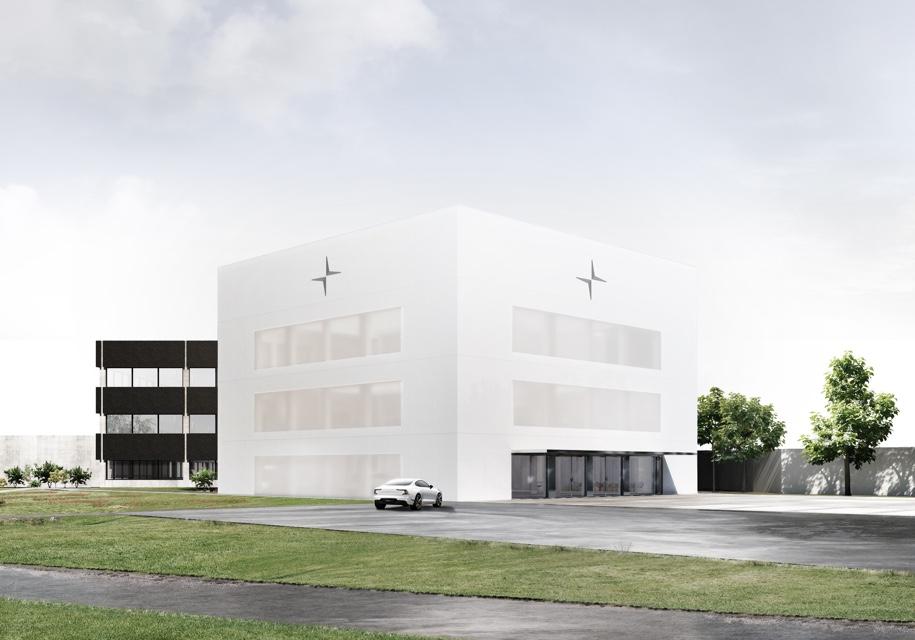 Компания Polestar построит себе уникальную штаб-квартиру