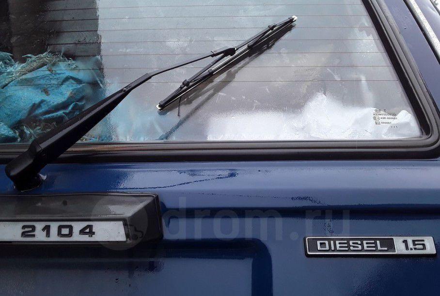 Во Владивостоке выставлен на продажу уникальный дизельный ВАЗ-2104