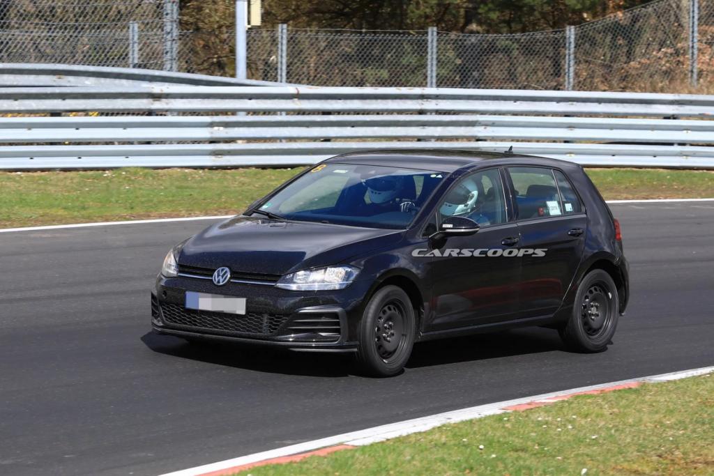 Volkswagen вывела на тесты новое поколение хэтчбека Golf