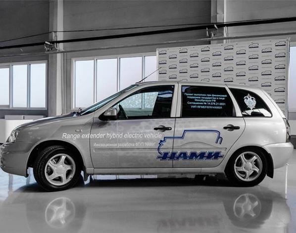 Специалисты «НАМИ» модернизировали электромобиль Lada Ellada