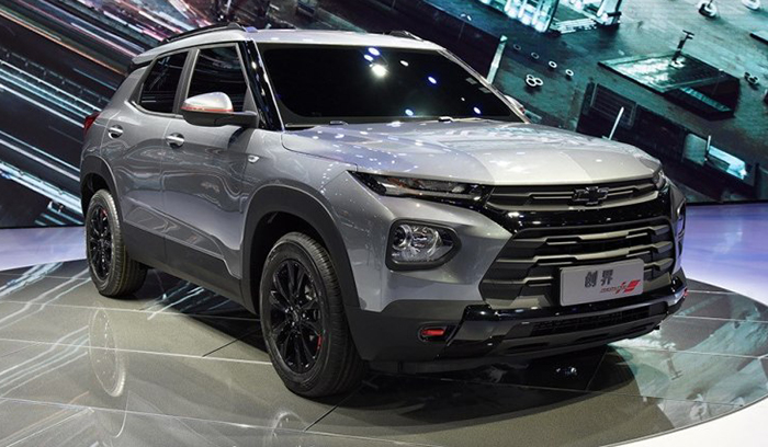 Салон нового Chevrolet Trailblazer от GM рассекретили официально