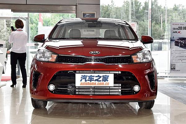 Удешевленный седан Kia Rio вышел за пределы Китая