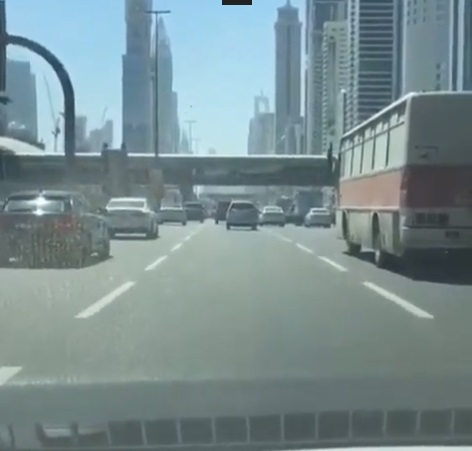 Дагестанский автобус очень удивил жителей ОАЭ
