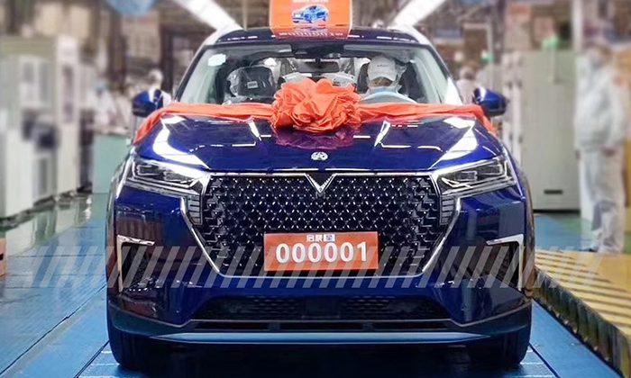 Nissan и Dongfeng запустили в производство кроссовер Venucia Star