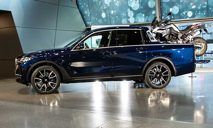 Компания BMW продемонстрировала пикап на базе BMW X7