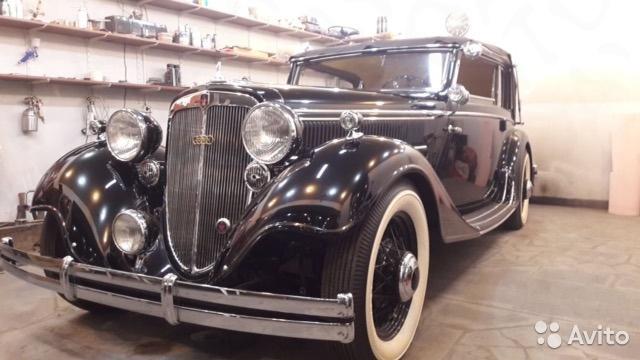 В РФ продают коллекционный Audi 1939 г. за 65 млн руб