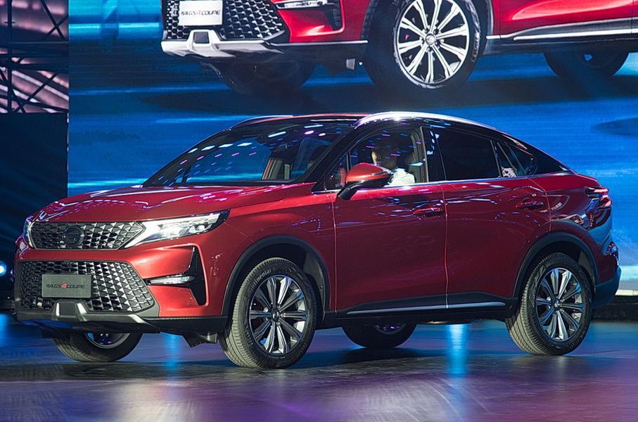 Китайцы из GAC выпустили кроссовер с расходом топлива 1,3 литра на 100 км