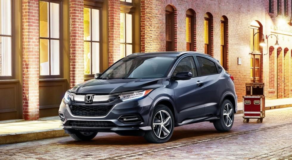 Компания Honda представила новые кроссоверы Honda Pilot и Honda HR-V