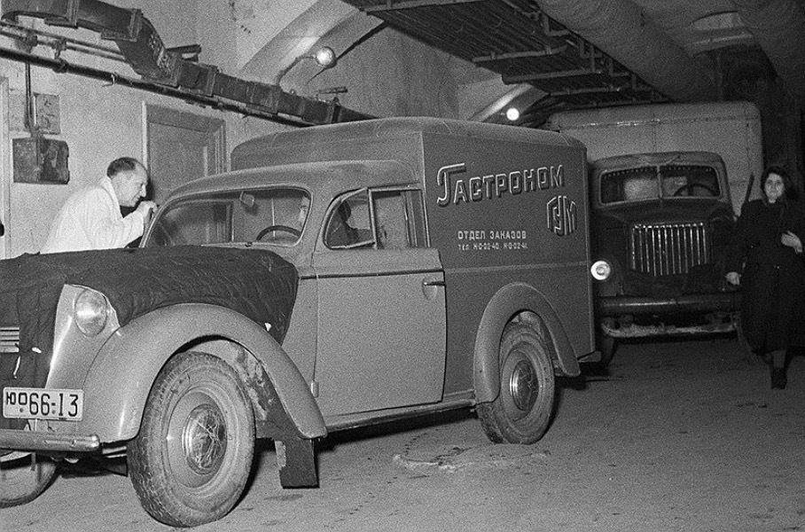 Восстановили единственный сохранившийся «Москвич»-«каблук»