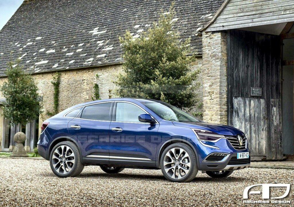 Новый Renault Koleos примерил кузов кросс-купе