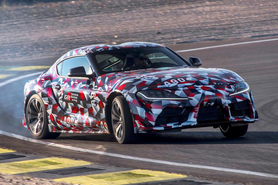 Названа дата дебюта возрожденного спорткара Toyota Supra