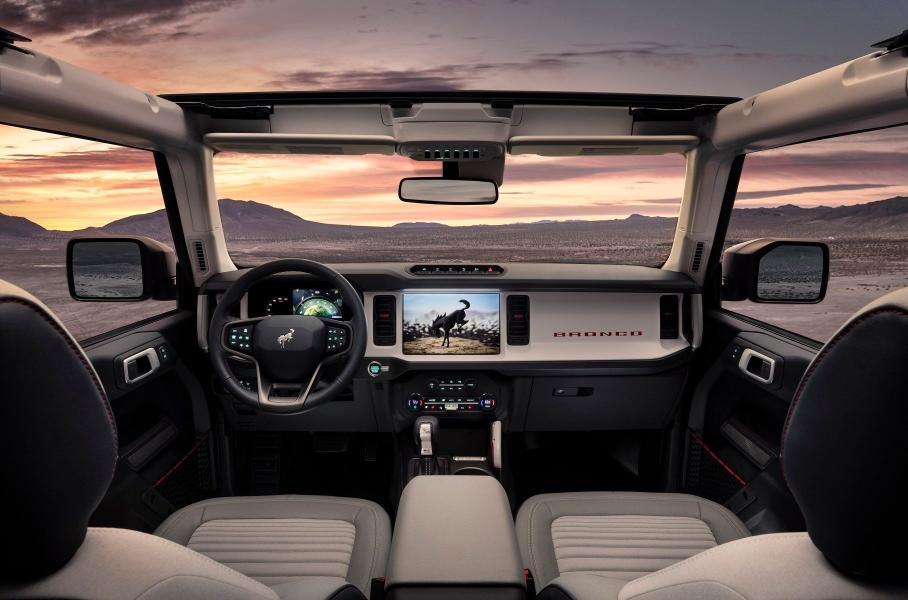 Ford представила новый внедорожник Bronco