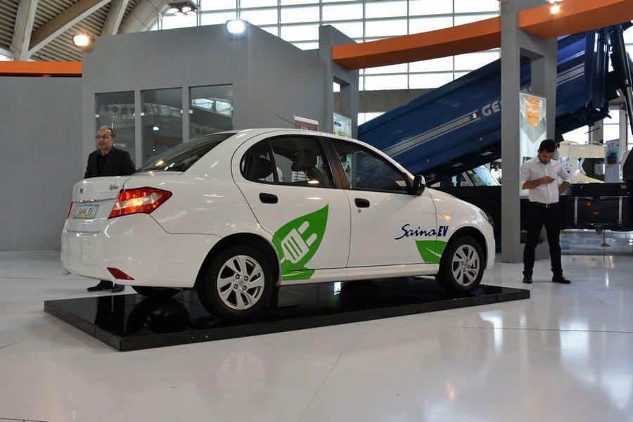 В Иране представлен первый электромобиль собственной разработки