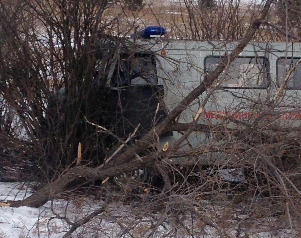 В Забайкалье произошло ДТП с участием машины скорой помощи