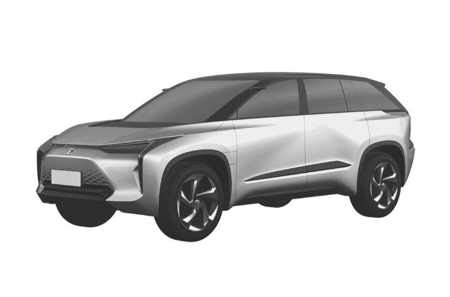 Появились изображения новейших кроссоверов от Toyota