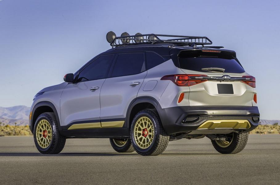 В США представили новые версии Kia Seltos для бездорожья