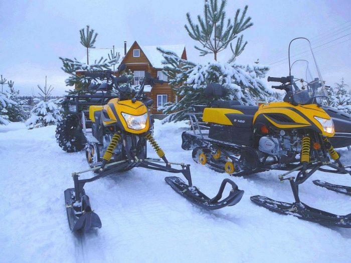 Модели снегоходов Динго — сравнение запчастей и характеристик