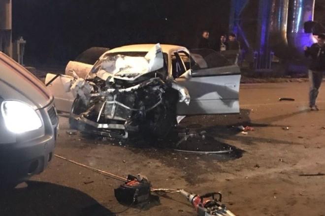 Четыре человека в Благовещенске получили травмы в ДТП