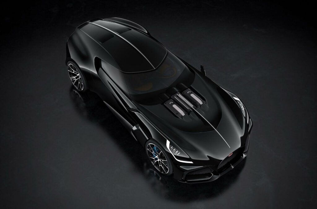 Компания Bugatti рассекретила три секретных концепта