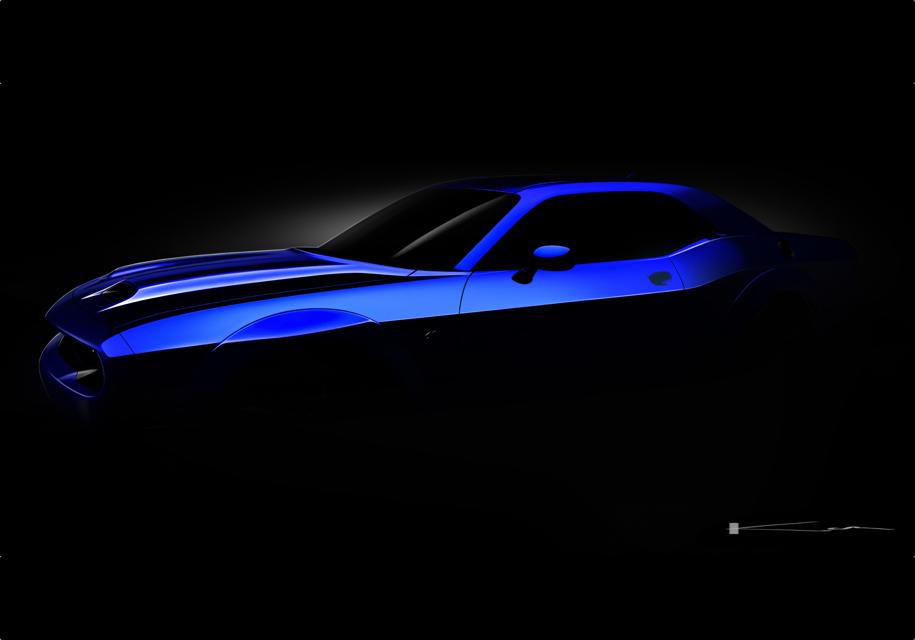 Масл-кар Dodge Challenger Hellcat обновят в ретростиле