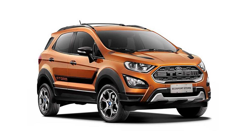 Кроссовер Ford EcoSport получил «брутальную» версию EcoSport Storm