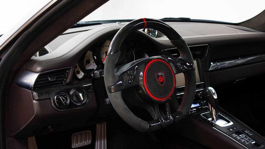 Gemballa представила 807-сильный широкофюзеляжный Porsche 911 Turbo