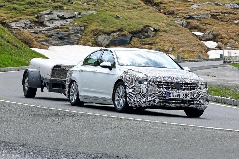Volkswagen готовит к дебюту обновленный седан Volkswagen Passat