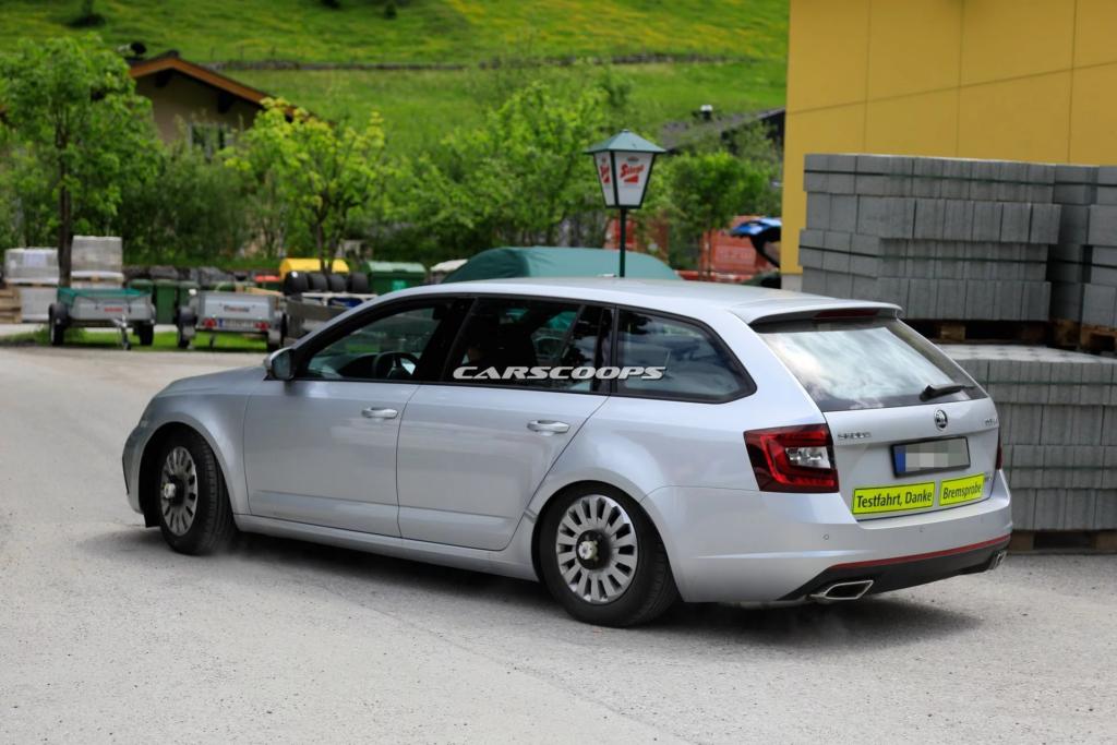 Skoda вывела на тесты новое поколение модели Skoda Octavia