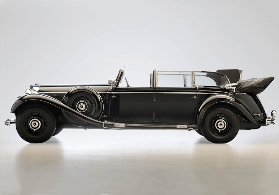 Парадный Mercedes-Benz Адольфа Гитлера продадут на аукционе