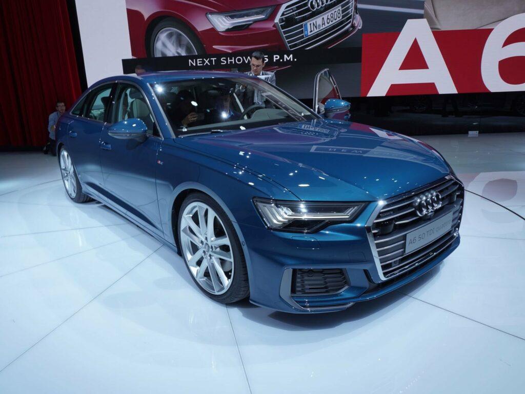 Audi в Женеве представила седан Audi A6 нового поколения