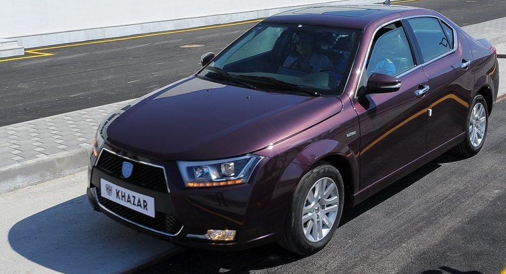 Новый азербайджанский бренд Khazar представил на ММАС свои автомобили