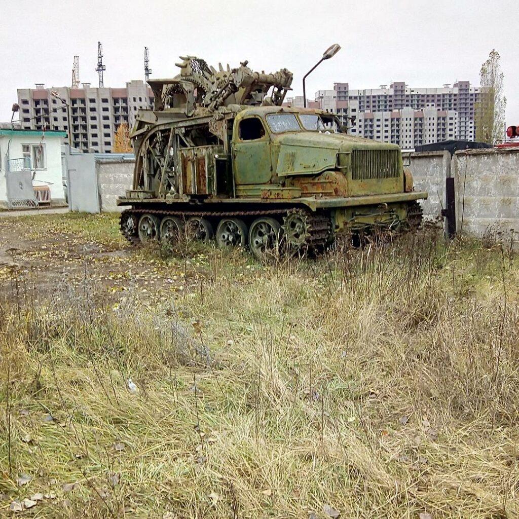 «Трансформер» на базе советского вездехода нашли в Воронеже