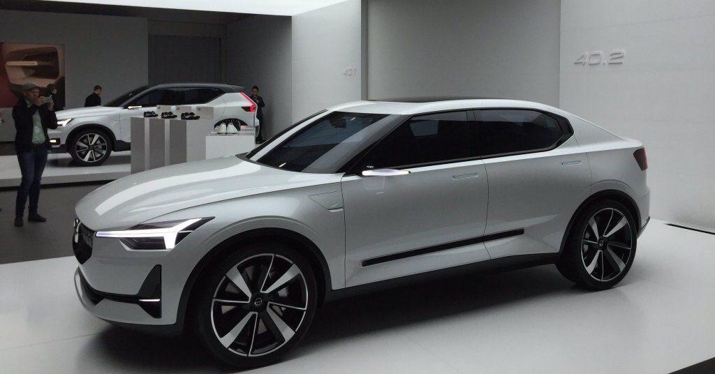 Volvo в 2019 году представит свой первый электрический хэтчбек