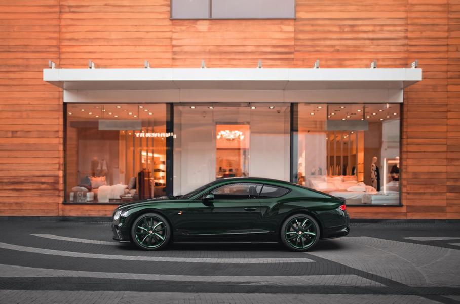 Эксклюзивное купе Bentley Continental GT привезли в Россию