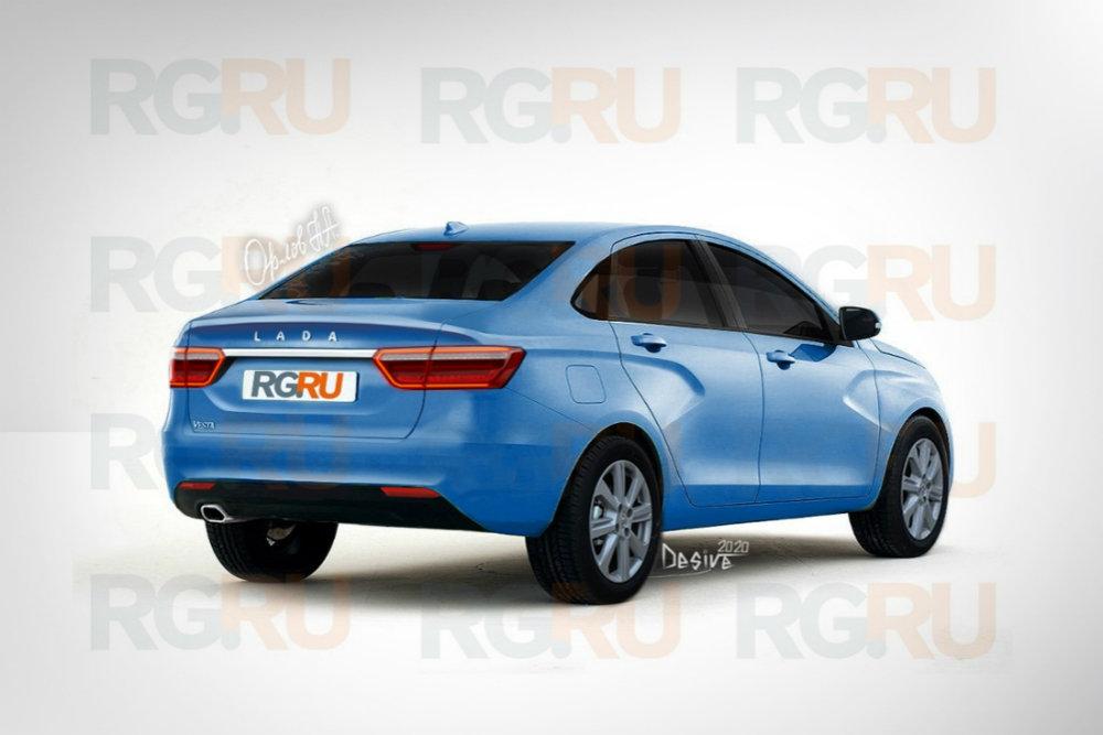 Первые изображения новой Lada Vesta Facelift опубликованы в Сети