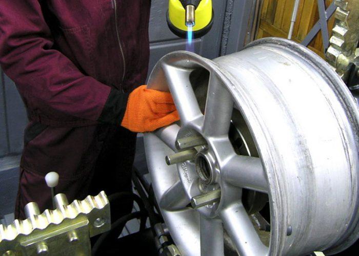 Способы ремонта автомобильных дисков