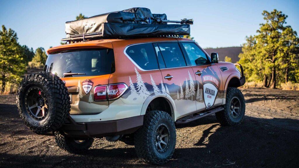 Внедорожник Nissan Armada получил новую версию для экстремального отдыха