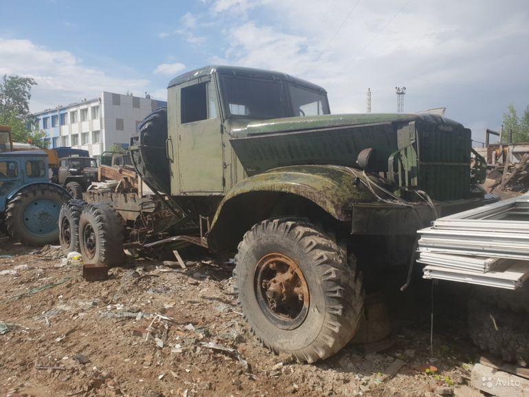 В России продают уникальный КрАЗ-214 1960 года за 3 600 долларов