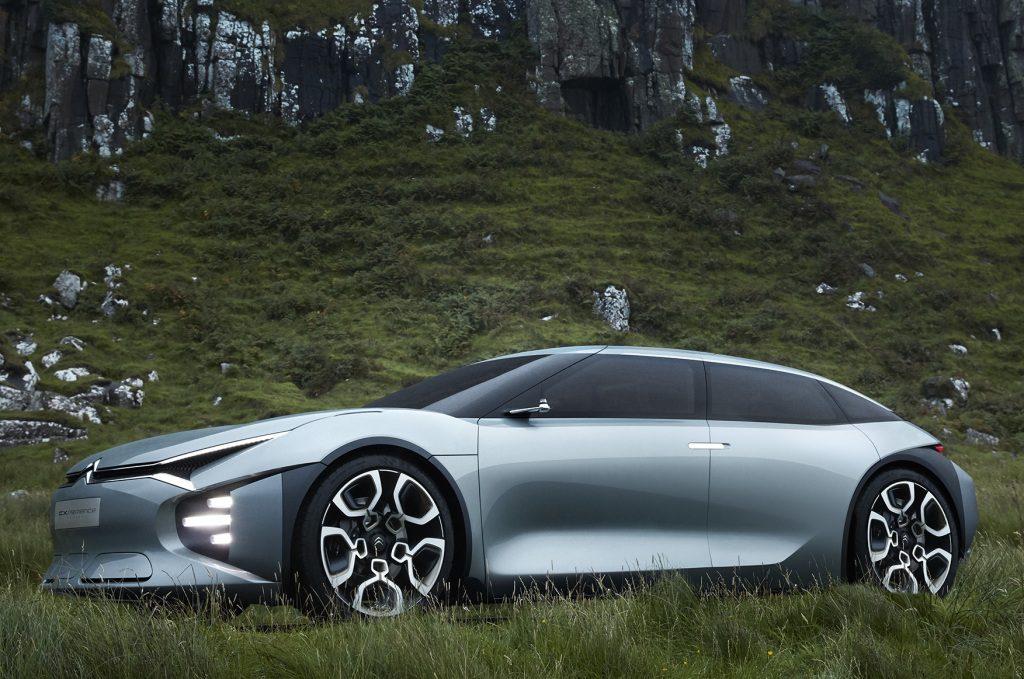 Citroen выпустит в 2021 году новый флагманский седан