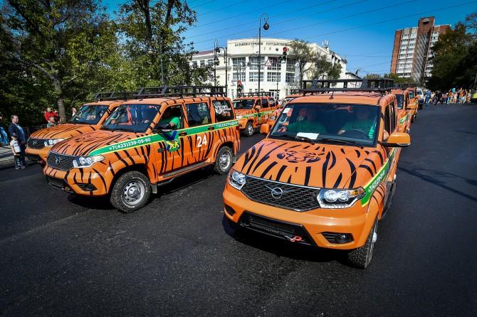 УАЗ «Патриот» заступил на дежурство по охране природных ресурсов