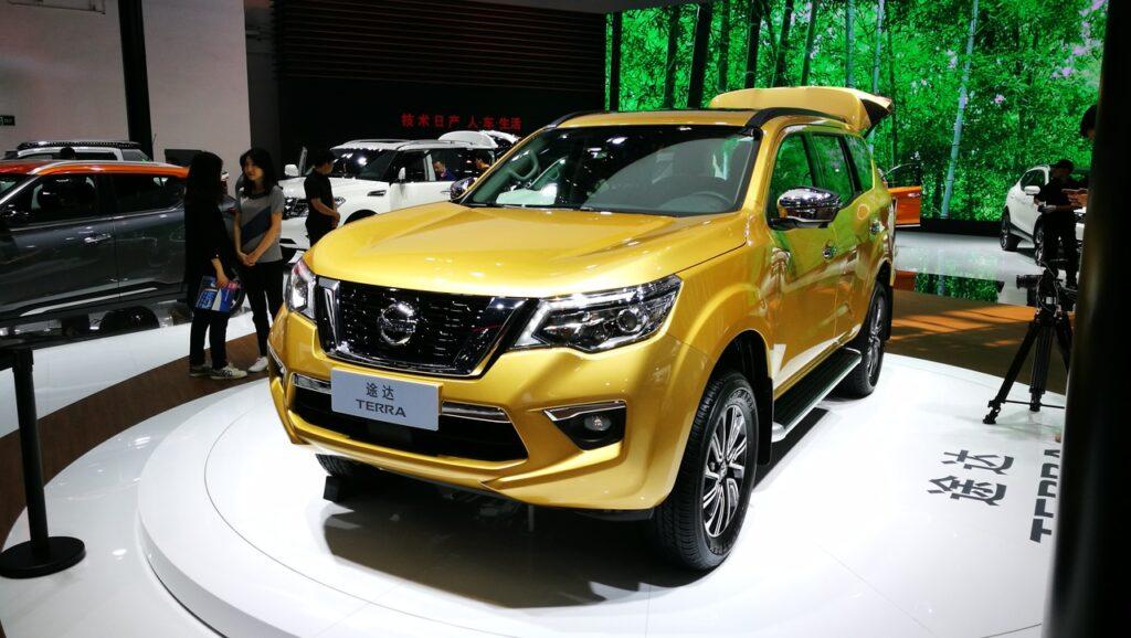 Компания Nissan презентовала новый рамный внедорожник Nissan Terra