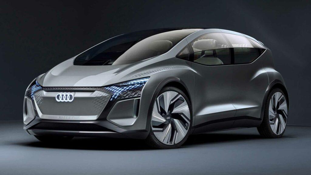 Audi показала очень необычный концепт AI:ME с садом на крыше